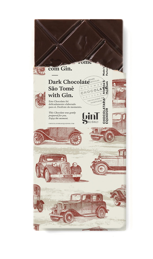 Dark chocolate and Gin