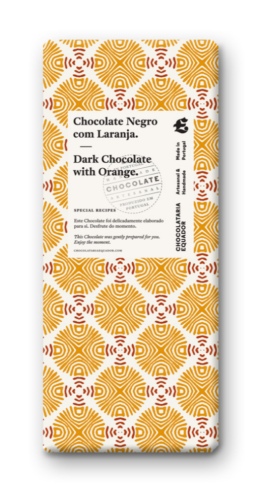 Dark chocolate and Orange