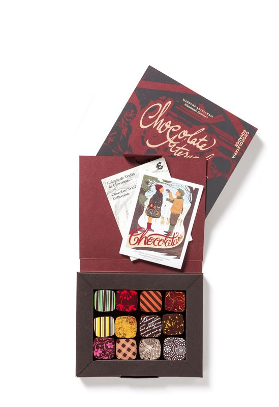 Box of 12 assorted bonbons